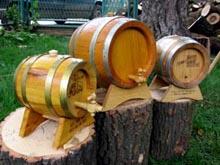 Ukrasna drvena burad