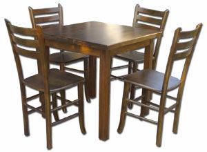stolovi-za-restorane-sa-cetiri-noge-i-stolicama